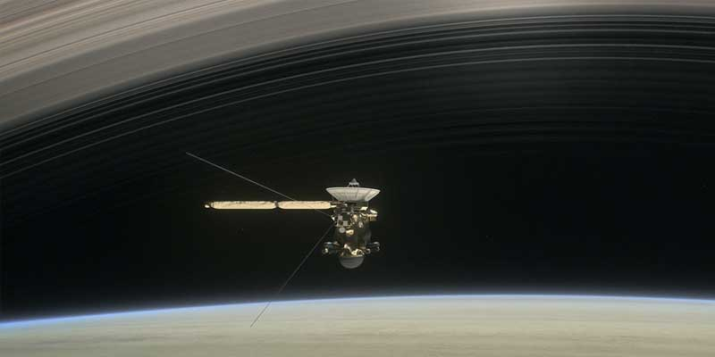 The spacecraft Cassini is set for its last days exploring Saturn.