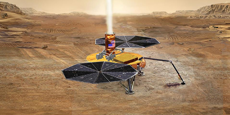 NASA plans to send robotic system to Mars to collect samples that will then be sent back to earth.