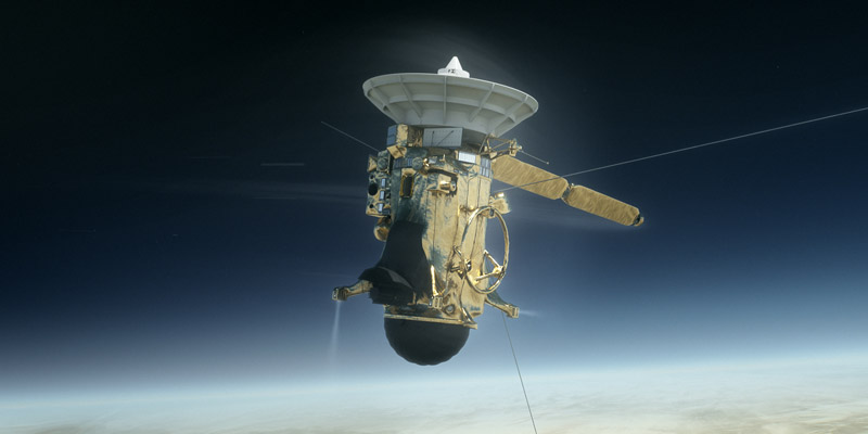 Following a 13 year exploration of Saturn, we pay tribute to Cassini on its last day.