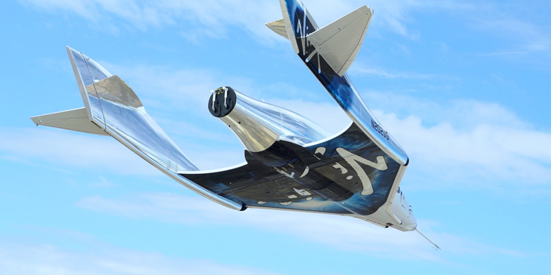 Virgin Galactic's SpaceShipTwo Close To Powered Flight.