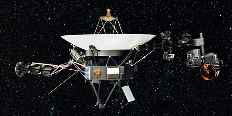 Following its launch in 1977, the Voyager 1 spacecraft has spent 40 years of exploring the universe and it's still going.