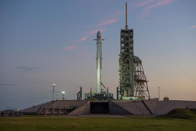 SpaceX EchoStar 105/SES-11 Gallery: image 5.