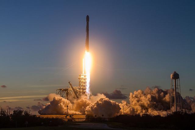 SpaceX EchoStar 105/SES-11 Gallery: image 4.