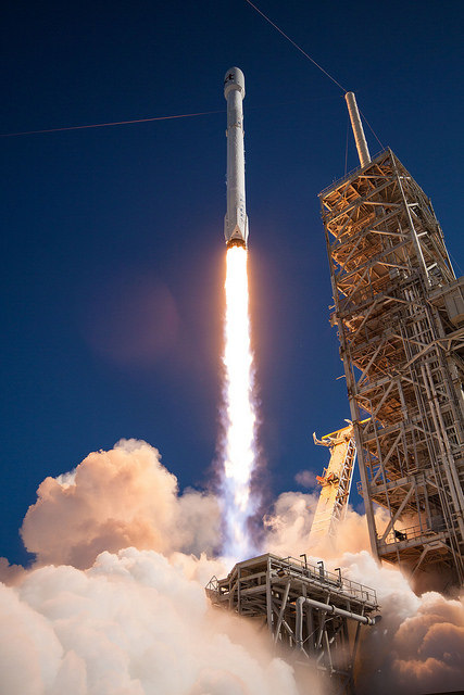 Gallery image 1 of Koreasat 5A Satellite SpaceX launch.