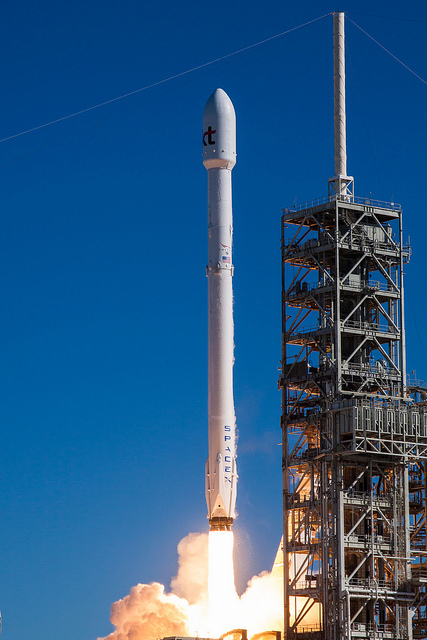 Gallery image 2 of Koreasat 5A Satellite SpaceX launch.