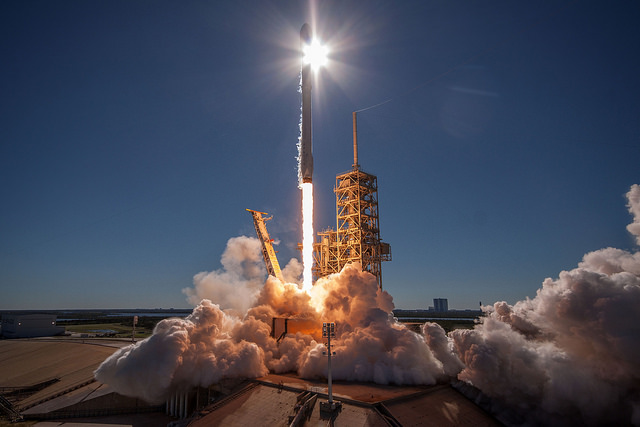 Gallery image 3 of Koreasat 5A Satellite SpaceX launch.