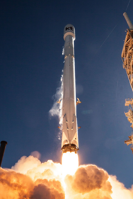 Gallery image 4 of Koreasat 5A Satellite SpaceX launch.