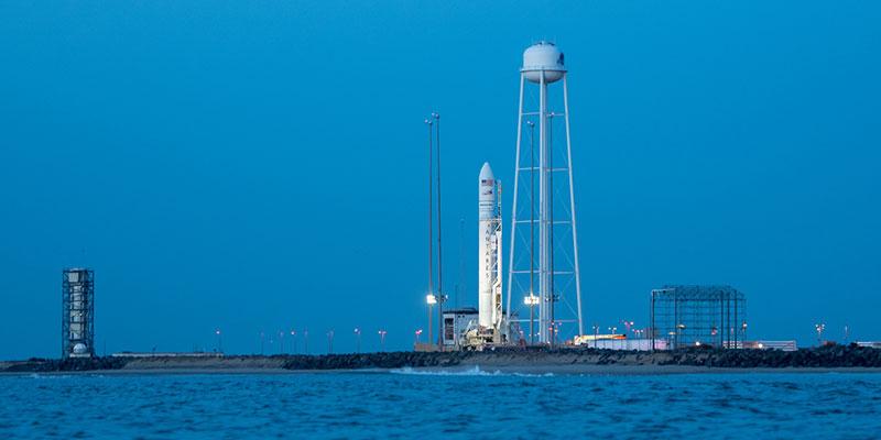 Saturday's scrubbed Orbital ATK OA-8 Cygnus launch.