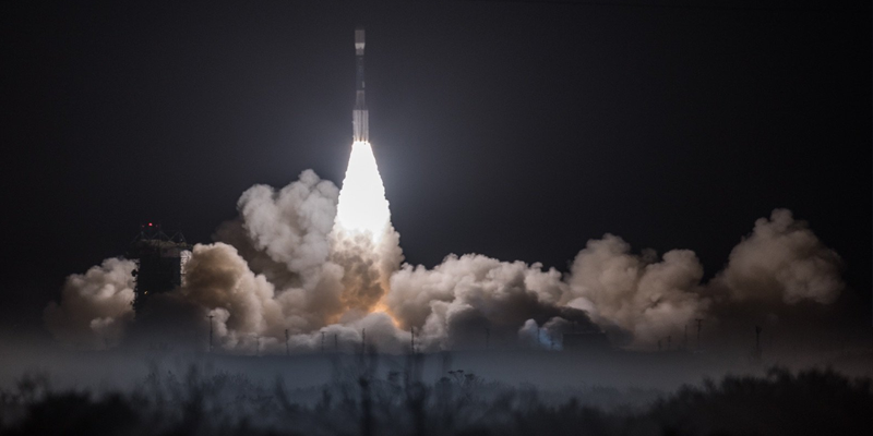 The JPSS-1 weather satellite has been successfully deployed by a ULA Delta II launch vehicle.