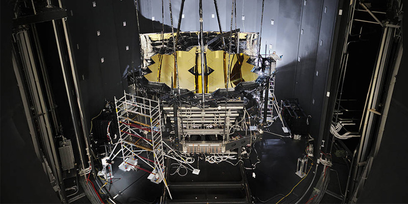 NASA's James Webb Telescope has successfully completed cryogenic vacuum testing.