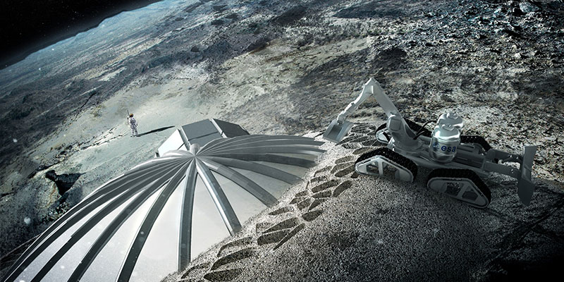 An international research team has discovered an ideal location for a lunar base.