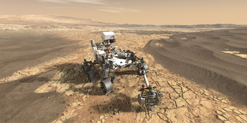 NASA's Mars 2020 rover will feature 23 individual cameras.