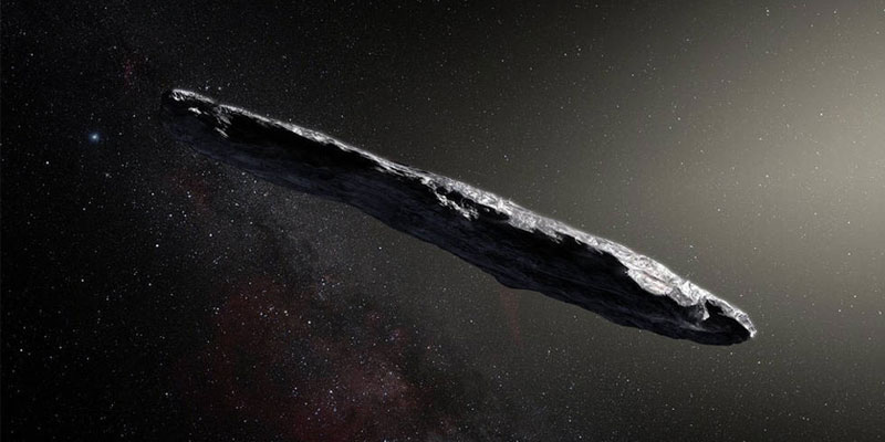 An interstellar asteroid dubbed 'Oumuamua will be visiting our solar system until mid-December.
