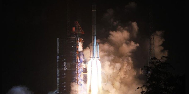 Algeria's first telecommunications satellite, Alcomsat-1 launches aboard a Chinese Long March 3B