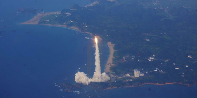 The Japan Aerospace Exploration Agency has successfully launched two climate research satellites.