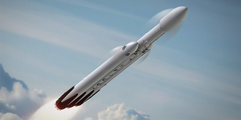 SpaceX founder Elon Musk has announced that the first Falcon Heavy mission will launch a Tesla Roadster to Mars.