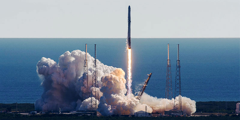 The CRS-13 payload has launched successfully aboard a SpaceX Falcon 9 from Space Launch Complex 40.