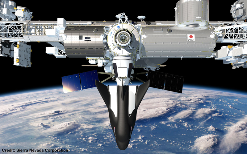 NASA have official given SNC's Dream Chaser a ISS resupply launch date of 2020.