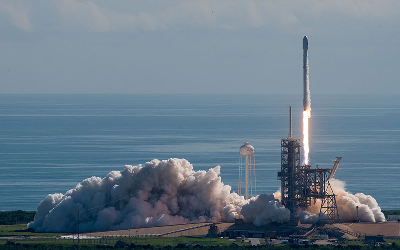 SpaceX receive NASA certification allowing the provider to launch agency science missions like the TESS satellite aboard the Falcon 9.