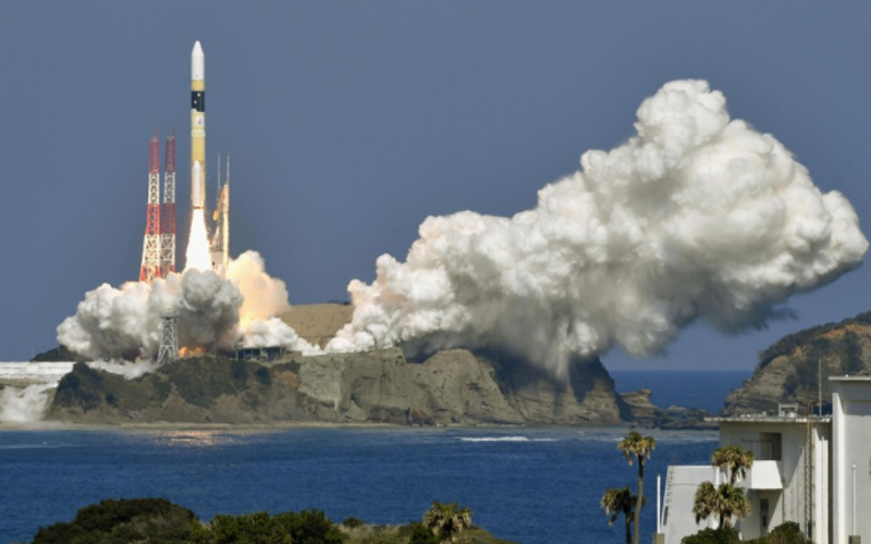 Japan's space agency, JAXA has launched the IGS Optical 6 spy satellite into orbit.