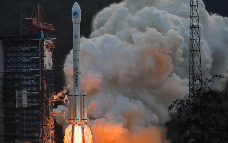 China launches a Long March 3B and deploys two BeiDou-3 navigation satellites into orbit.