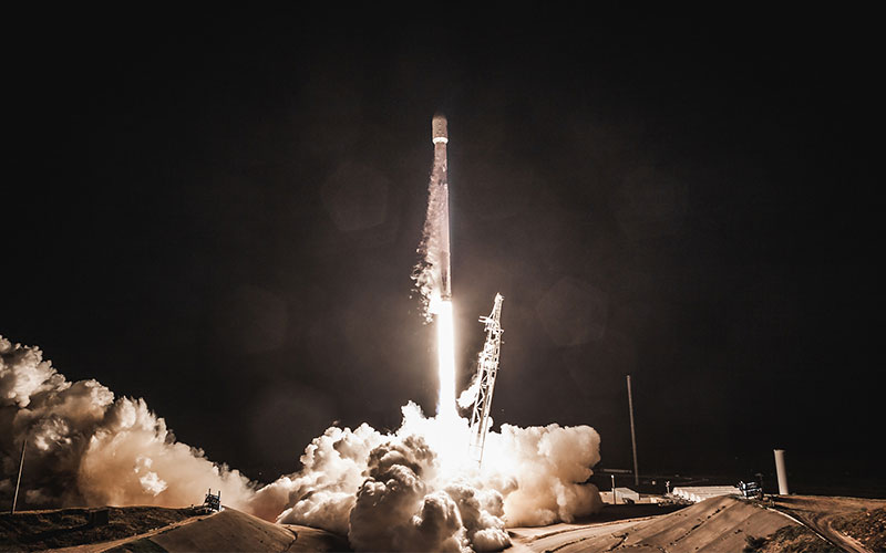 SpaceX launched a secondary payload of two Starlink testbed satellites during PAZ launch.