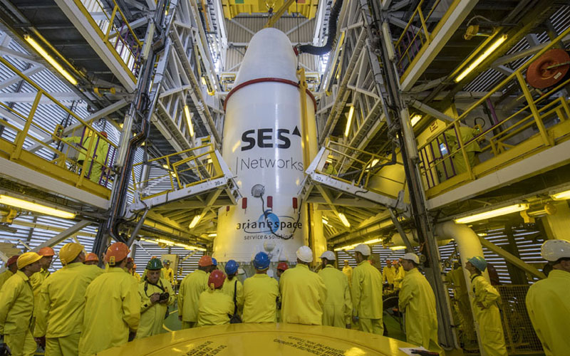 Four O3b MEO satellites deployed successfully following the launch of a Arianespace-contracted Soyuz launch vehicle.