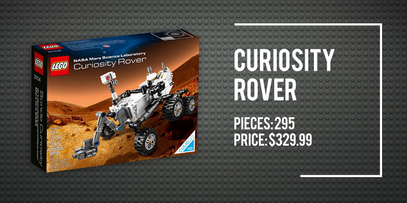 The 5 Best Space Lego Sets on Amazon: Curiosity Rover.