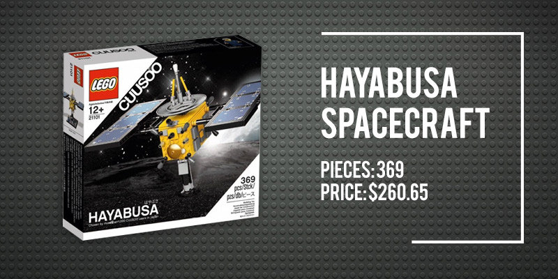 The 5 Best Space Lego Sets on Amazon: Hayabusa Spacecraft.