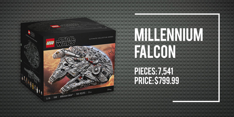 The 5 Best Space Lego Sets on Amazon: Millennium Falcon.