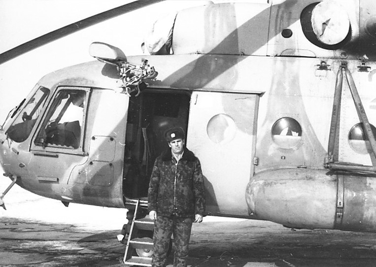 "JackVernian's helicopter engineer father who documented the secreative Buran ""shuttle"" programme."