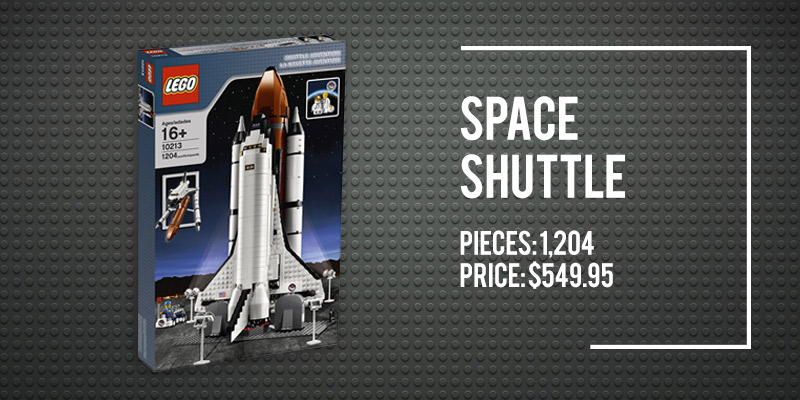 The 5 Best Space Lego Sets on Amazon: Space Shuttle.