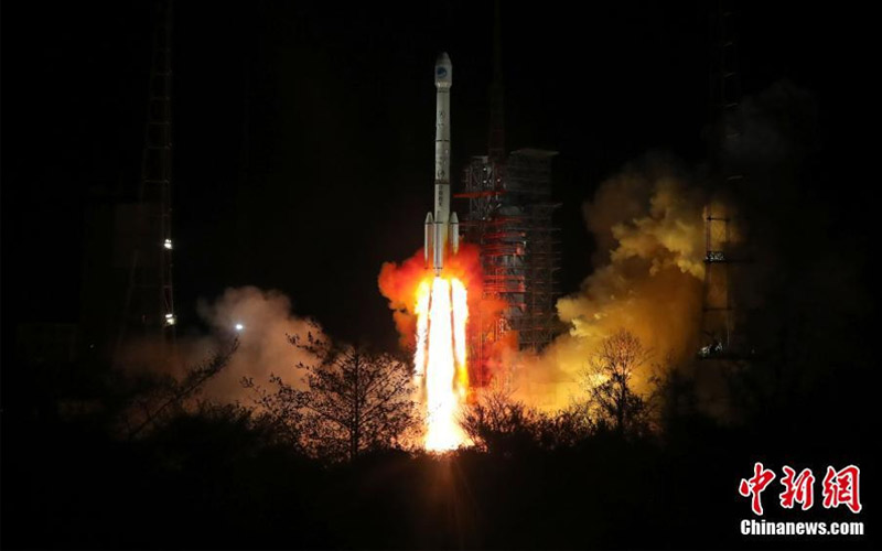 Three orbital mission were launched globally within twelve hours on Thursday March 29 2018.