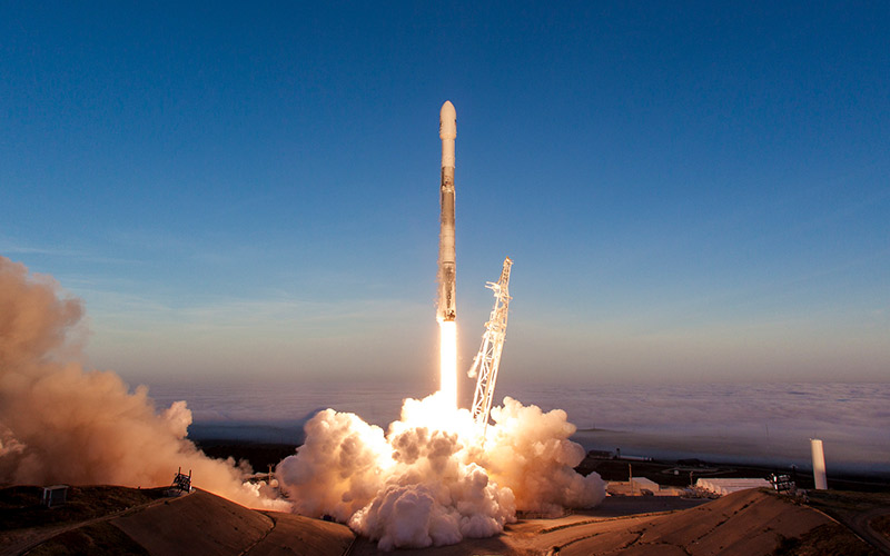 Iridium have added 10 more satellites to their NEXT constellation following a successful SpaceX Falcon 9 launch.