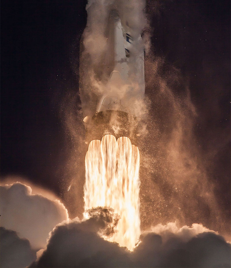 SpaceX launch NASA's TESS spacecraft aboard their Falcon 9 rocket.