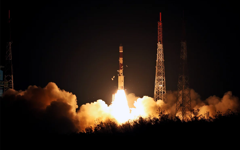 India launched IRNSS-1I navigation satellite.