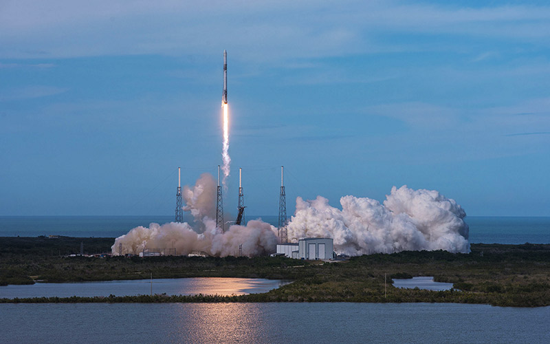 A Falcon 9 carrying 2,600 kilograms of cargo bound for the International Space station has launched successfully.