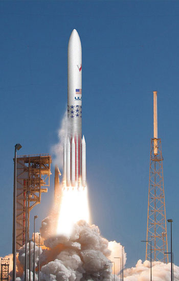 A brief look at the United Launch Alliance Vulcan rocket.