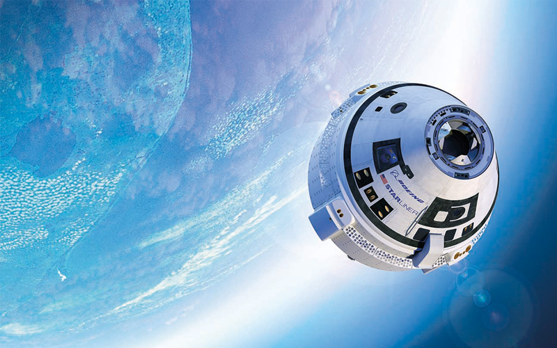 Boeing Starliner International Space Station (ISS) commercial crew transport.
