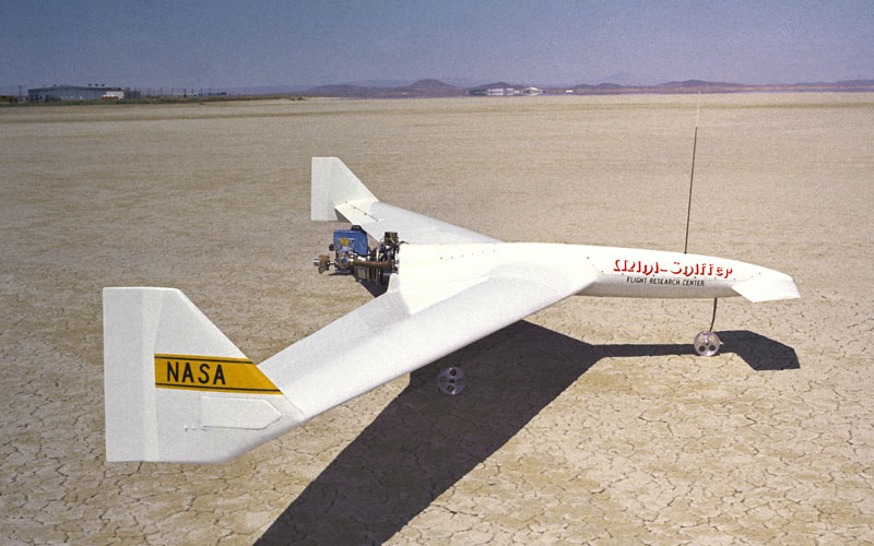The Mars Sniffer plane was designed by NASA between 1975 and 1982.