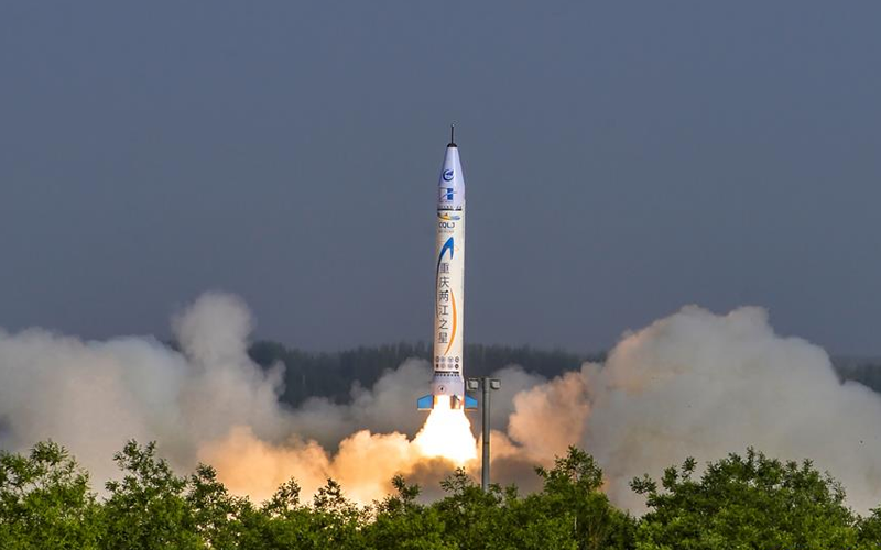 Chinese rocket developer, OnceSpace launch their OS-X rocket for the first time.