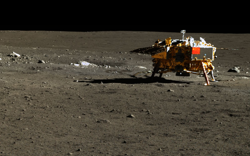 Chinese Chang'e-3 lander still operational over fours years longer than expected.