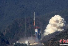 China launch two mysterious test satellites aboard a Long March 2C rocket.