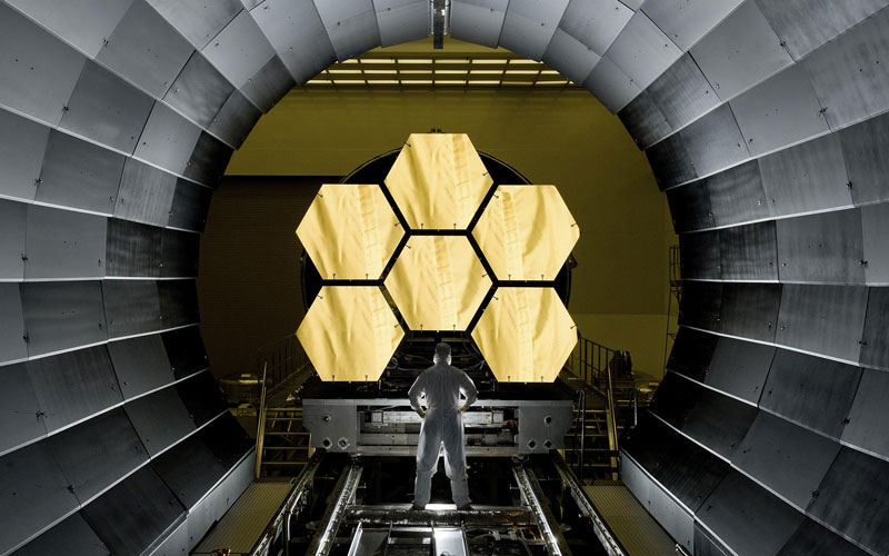 NASA push the launch of the James Webb Space Telescope to Early 2021.