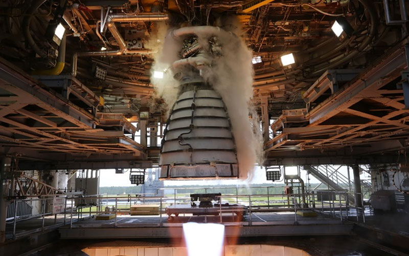 AR-22 Phanton Express engine test fire on July 2.