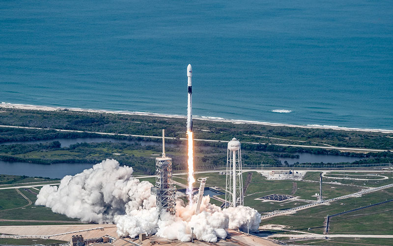 SpaceX launch Telstar 19 VANTAGE satellite for Canadian satellite communications company Telesat.