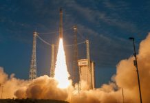 Arianespace has launched the Aeolus wind satellite for the European Space Agency.