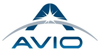 Avio company logo.