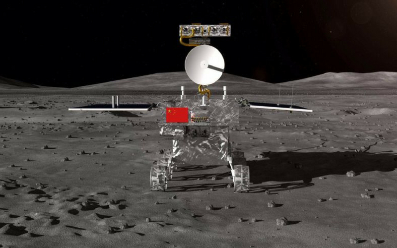 The Chang'e-4 rover will be the first to explore the far side of the moon.
