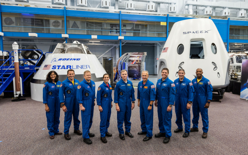 Nine astronauts have been selected to crew the first four mission of the NASA Commercial Crew Program.